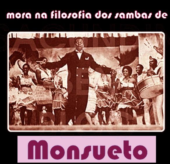 Capa Mora na filosofia dos sambas de Monsueto By Marcel Cruz e Magda Joele