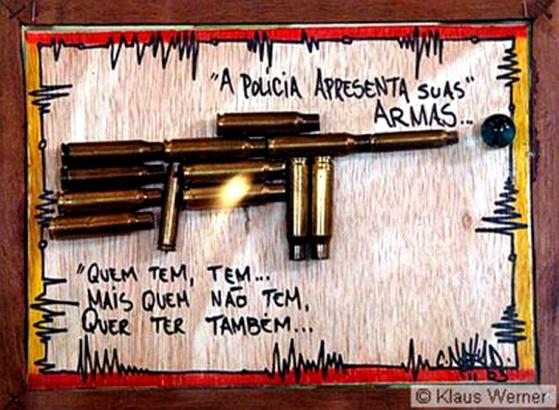 kunstprojekt der Favela Morro dos Prazeres Klaus Werner