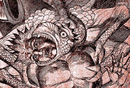 Inferno de Dante segundo Wiliam Blake