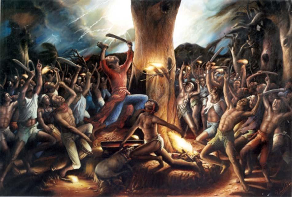 O grande encontro de 'Bois Caiman' onde começou a revolução do Haiti