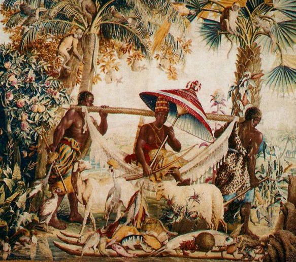 Pintura atribuída ao holandês Albert Eckhout, Pernambuco século 17