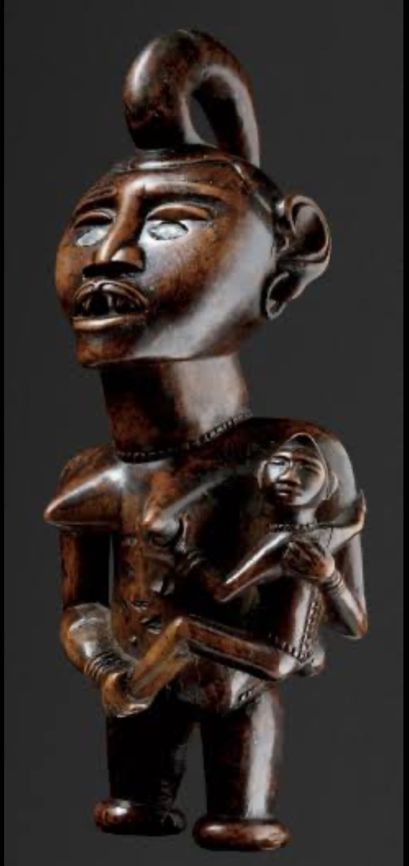 Estatueta Mpemba Mayombe - República Democrática so Congo (RDC)