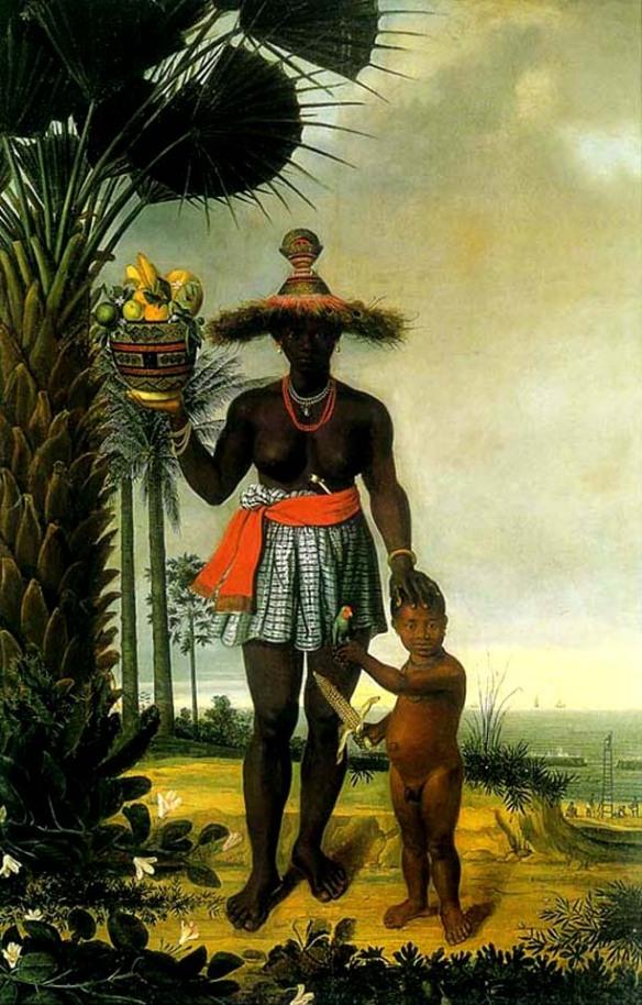 """""""Negra"""", Albert Eckhout, Recife 1641"""