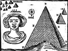 Olferd descreve egipcios e nariz negroide de esfinge