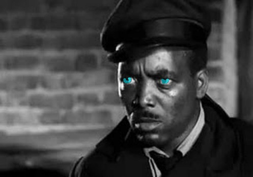 Tiao Medonho de olho azul
