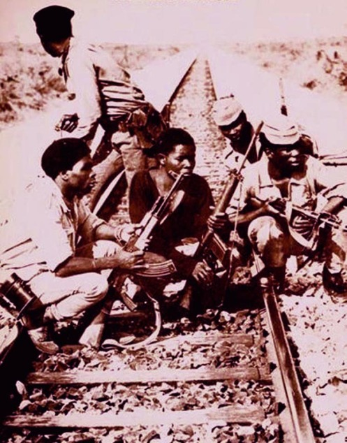 Guerra de libertação Angola emboscada nos trilhos