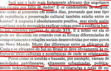 João Reis denegrindo o bantu com jeitinho