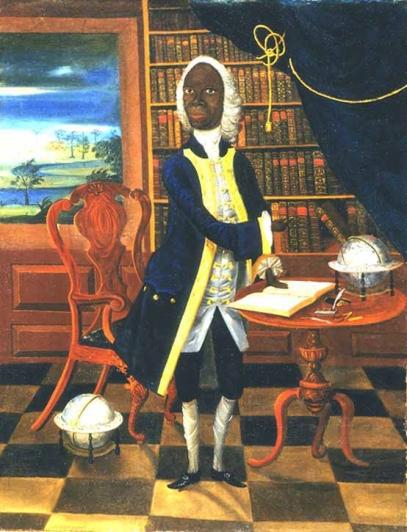 O verdadeiro Francis Williams, no século 18 em tela cheia de sugestões à sua intelectualidade exuberante