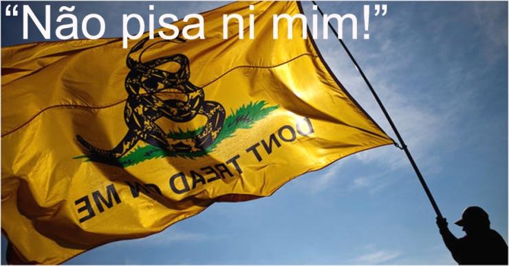 Tea party flag