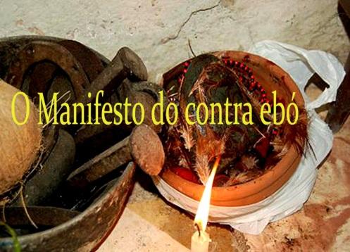 Manifesto do contra ebó