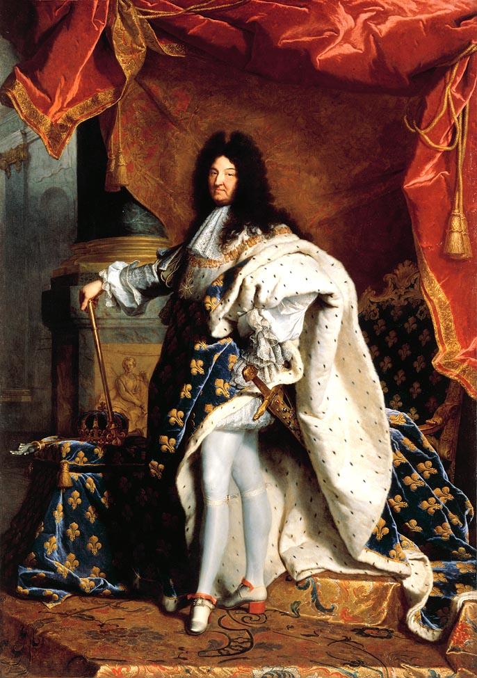 """Louis_XIV_of_France - Véio e pelancudo já, mas... o pezinho, a meinha e cinta liga na coxinha, """"entregam"""""""