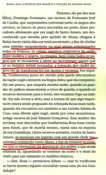 """Página 247 do livro """"Escravos"""" do toglôs Kangni Alem"""