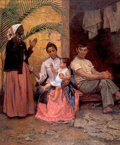 Redenção de Cam Modesto Brocos y Gomes 1895