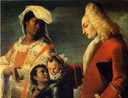 Capa do livro 'Thrall' da poetisa Natasha Trethewey mostrando um casal misto nos EUA do século 18