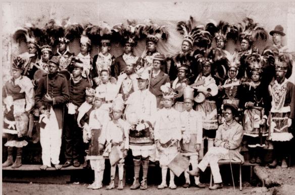 Congado de Uberaba 1889