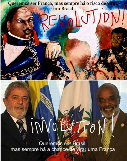 Brasil haiti duplo